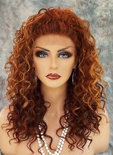 LACE FRONT LONG CURLS BRAIDED TOP CLR F33.32.240 ALLURING SEXY  USA SELLER *499