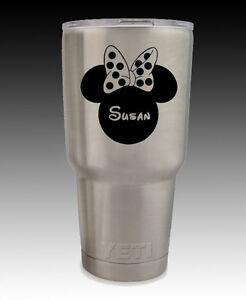 13501b63a96 YETI custom Rambler 30 oz Mickey Minnie Mouse cup tumbler engraved ...