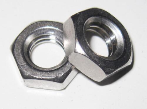 m8 acciaio aletta con anello selbstsichernd sw13 Zincato 25 X FLANGIA madre