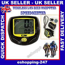 New Wireless LCD Bicycle Bike Computer Waterproof Speedometer Odometer Sports