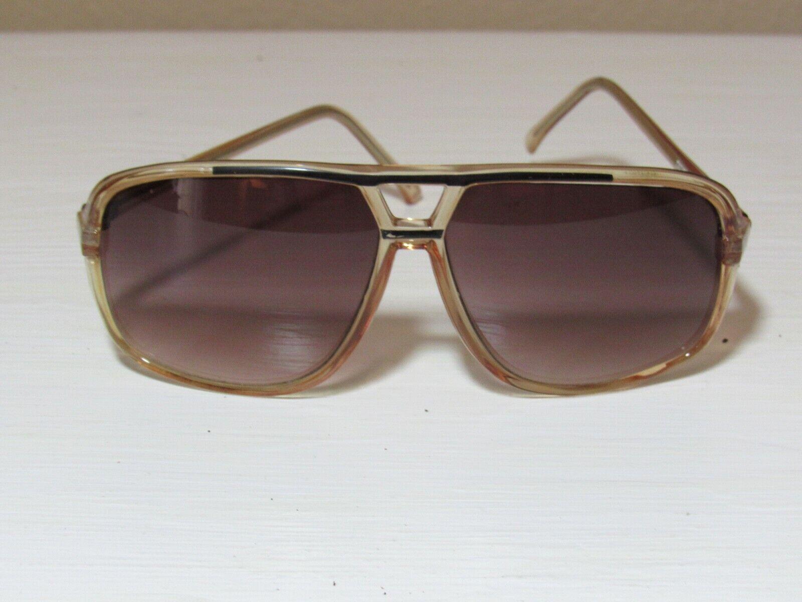 Vintage Aviator Sunglasses Brown Unisex