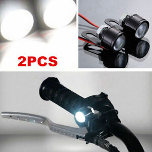 2pcs-Spotlight-LED-Motorcycle-Headlight-Daytime-Running-Light-Driving-Fog-Lamp