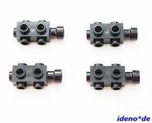 LEGO-4-Stk-1-x-2-x-2-3-Konverter-Stein-schwarz-modifiziert-4595-4523339-NEU