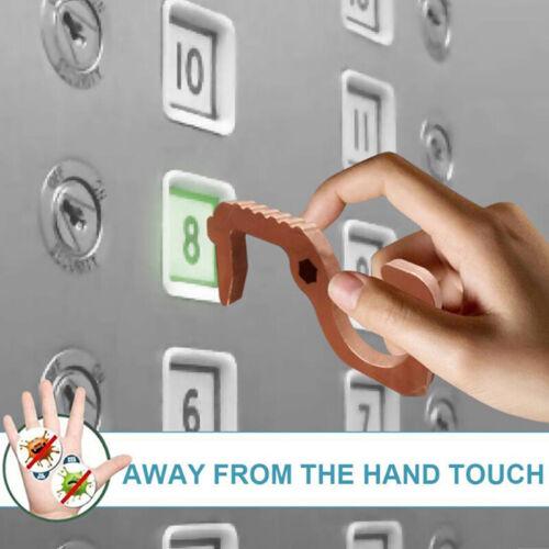 1PCS EDC Door Openers Convenient Non-contact Door Opening Button Switch Artif YK