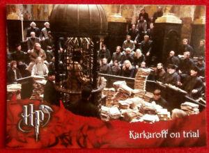 HARRY-POTTER-amp-GOBLET-OF-FIRE-Card-66-KARKAROFF-ON-TRIAL-CARDS-INC-2005