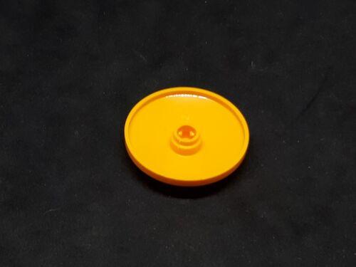 orange vif x2 3960 LEGO Plat inversé 4x4