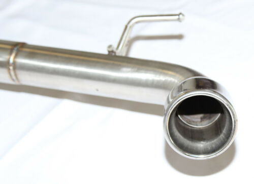 """SS Dual Exhaust for 2015-2017 VW Volkswagen GTI MK7 2.0T 2.5/"""" Pipe w//3/"""" Tip"""