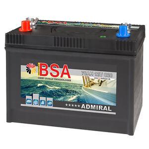 Bootsbatterie 70AH 12V Batterie Boote Versorgungsbatterie Marine Boot Schiff