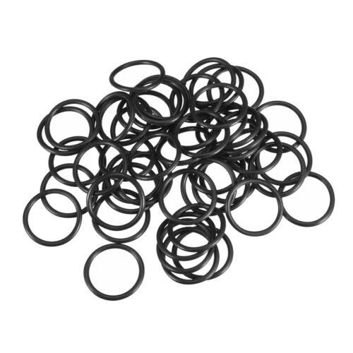 O-Rings Nitrile Rubber 6mm-22mm OD 2mm Width Seal Rings Sealing Gasket