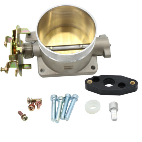 New POLISHED THROTTLE BODY 75MM fit for 1996-2004 FORD MUSTANG GT 4.6L SOHC