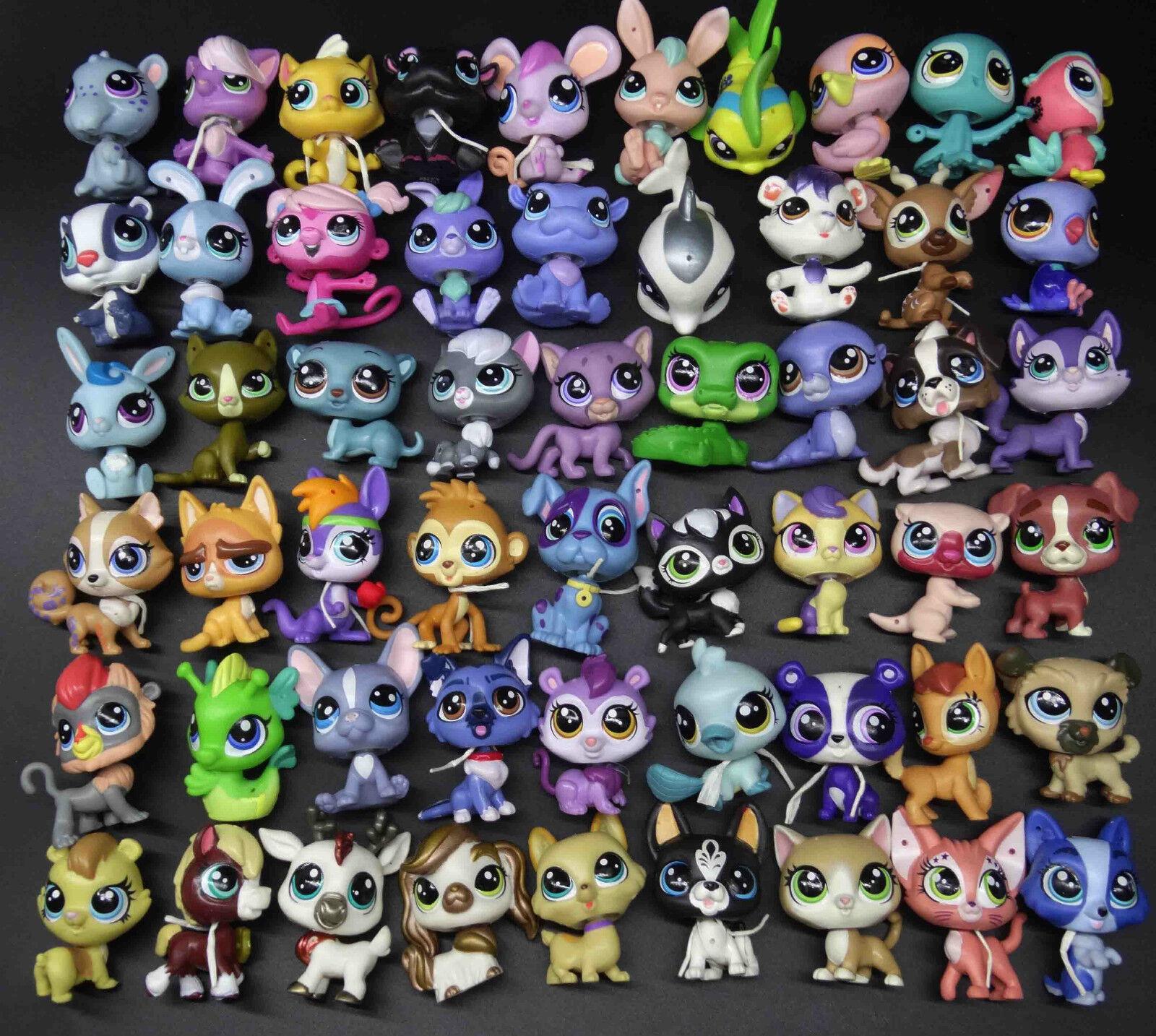 Lps Lps Lps Littlest Pet Shop Puppy DANE Husky DOG fish cat deer bird monkey fish deer 4b2725