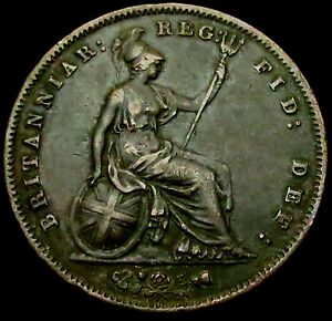 R376-1858-over-7-Large-Queen-Victoria-Copper-Penny