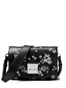 a32f3311864a Image is loading NEW-MICHAEL-KORS-SLOAN-EDITOR-EMBROIDERED-FLORAL-LEATHER-