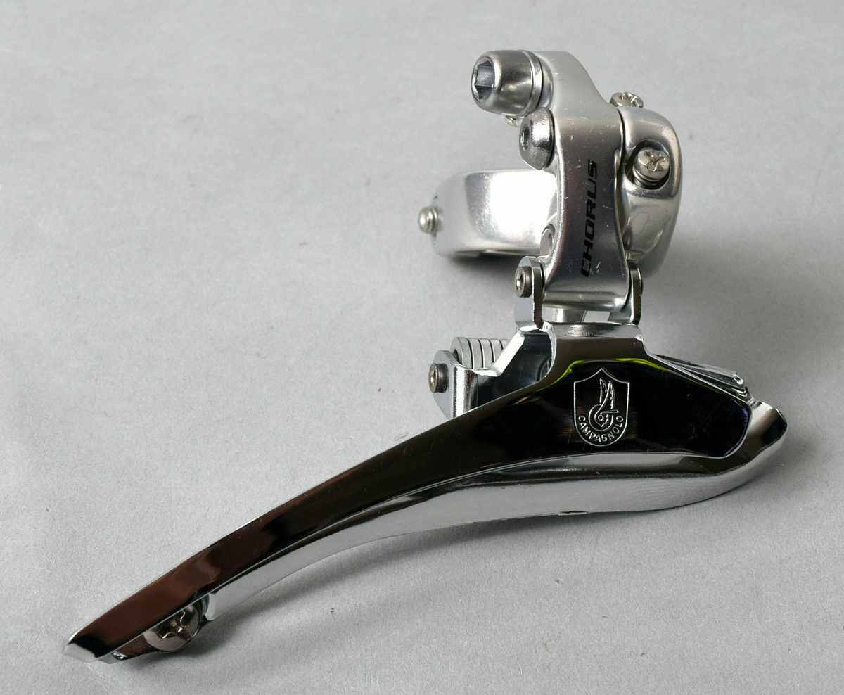 Campagnolo Chorus  VINTAGE  9 10s Front Derailleur 32mm Clamp on NEW