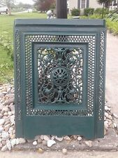 ANTIQUE FLOWERING TRELLACE FIREPLACE SUMMER COVER