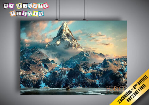 Poster The hobbit Wall art paysage