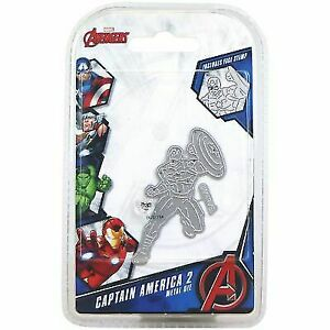 Marvel Die And Face Stamp Set-Avengers Captain America 2