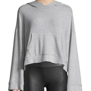 Cupcakes-and-Cashmere-Cropped-Long-Sleeve-Hoodie-Sweatshirt-Crop-Top-Size-Large
