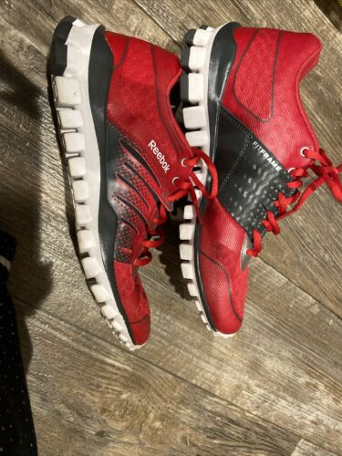 Red Reebok Fitframe Men Shoes