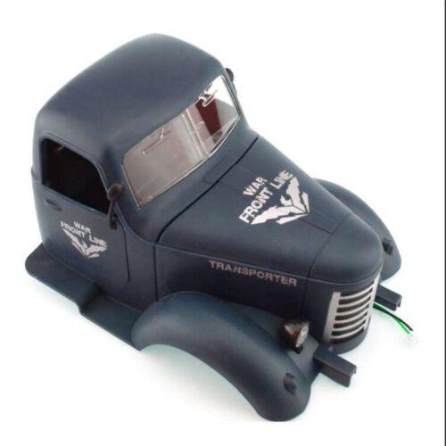 RC Car Parts Replacement Car Head For Q60 Q61 1//16 2.4G Off-Road Military Trucks