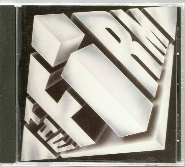 The Firm CD 1985 Atlantic Early Edition of CD