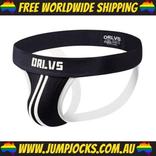 Fetish *FREE SHIPPING WORLDWIDE* Jocks Orlvs Black /& Red Jockstrap Gay