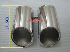 AUDI Q7 3.6TFSI 3.0TDI  08 2009 2010 2011 2012 CHROME EXHAUST MUFFLER TIP pipe