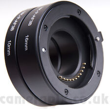 Automatic AF Auto Focus Macro Extension Tube Set for NIKON-1 S1 J3 V2 J2 V1 J1