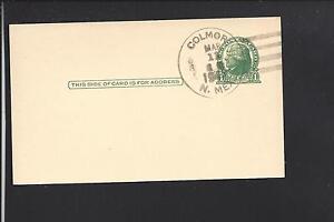 COLMOR-NEW-MEXICO-1942-GOVERNMENT-POSTAL-CARD-COLFAX-CO-DPO-1887-1963