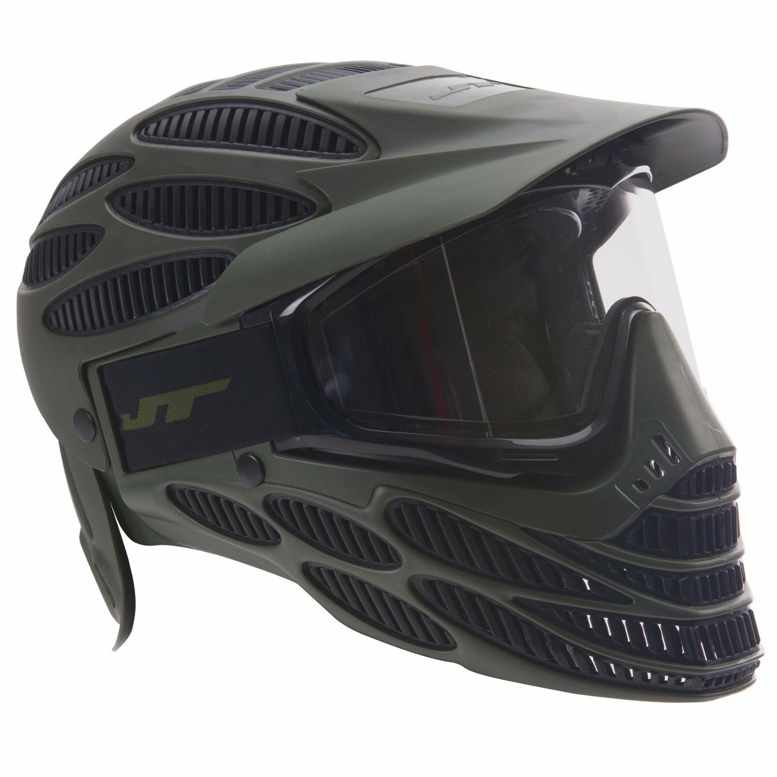 JT Flex 8 Full Head Cover Paintbtutti MaskGoggle  Thermal  Olive