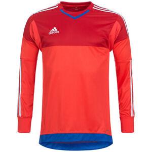 Details zu adidas adizero GK Torwarttrikot Langarm rot blau Trikot Jersey Gr. XS S M L XXL