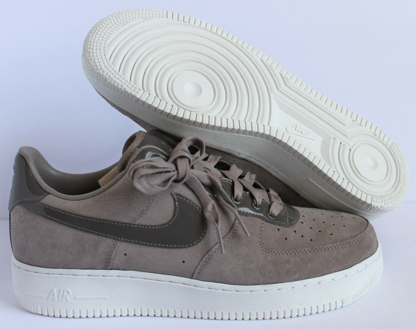 Nike Air Force One Low Suede ID Brown-White Men's 10.5 [AQ3661-991]