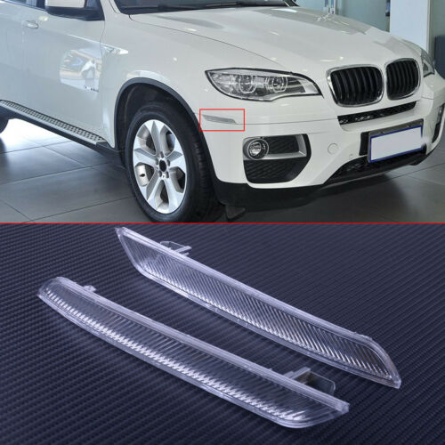 Set 2 Front Left /& Right Side Marker Reflector For BMW X6 E71 E72 2007-2014