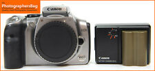 Canon Silver EOS Digital 300D DSLR Camera Body,Battery & Charger Free UK PP