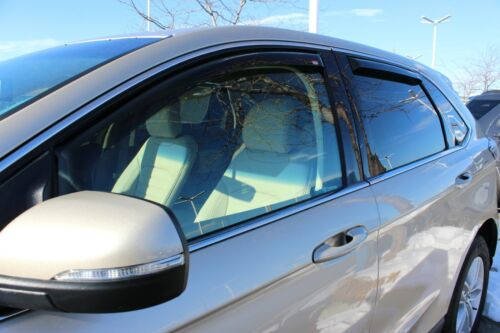 Ford Edge 2015-2019 Wind deflectors In-Channel