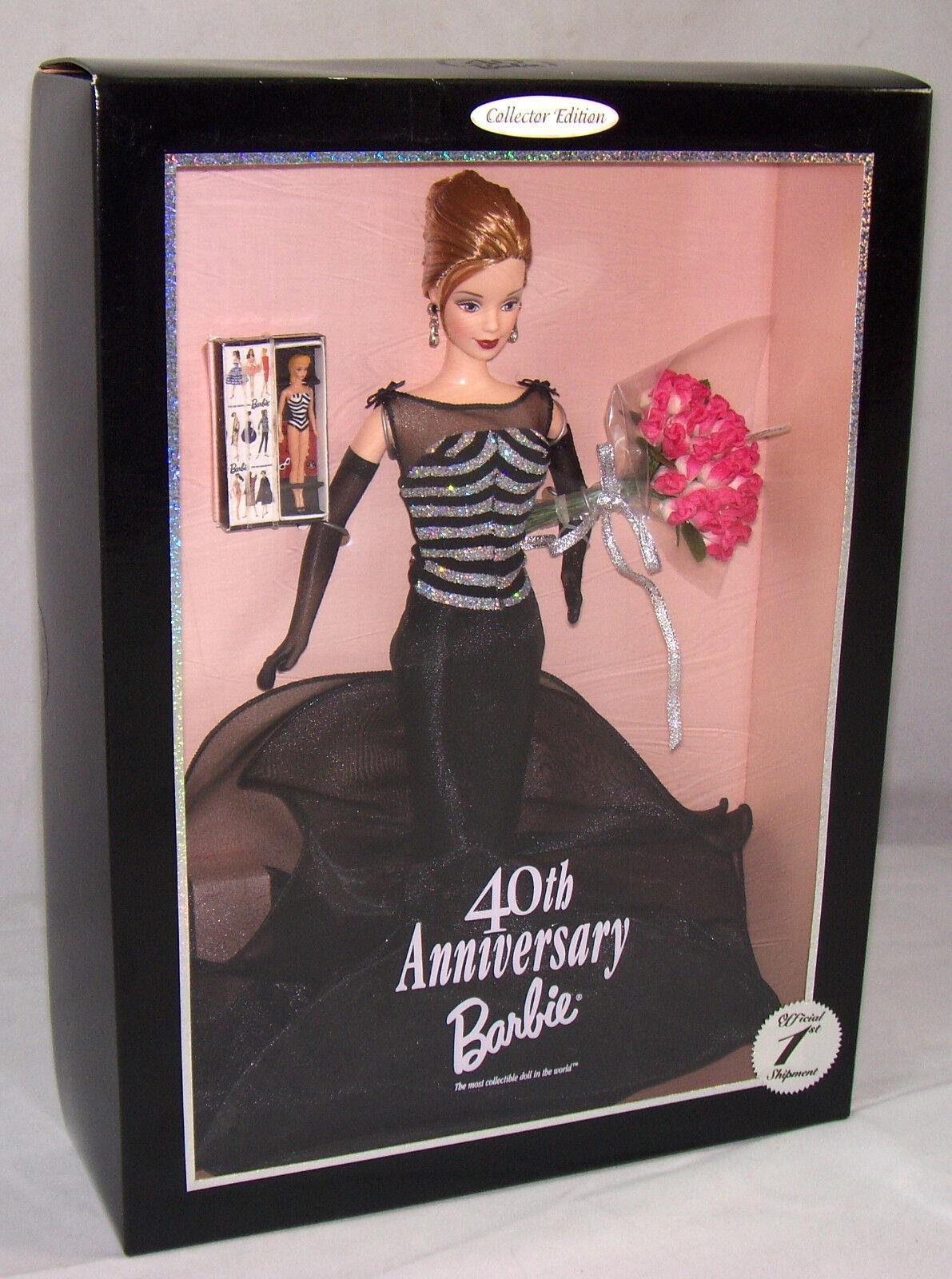 Disegna 40th Anniversary Bambola Barbie 1999 Collezzionista Edizione Limitata