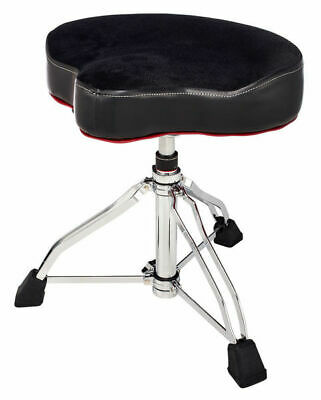 Tama 1st Chair Drum Throne Glide Rider with Cloth Top and HYDRAULIX Black