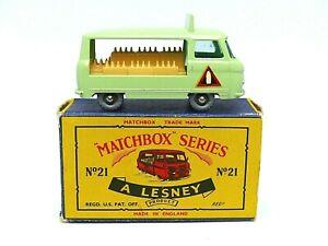 Matchbox-Lesney-No-21c-Commer-leche-flotan-en-caja-de-la-serie-de-tipo-034-C-034-calcomanias-de