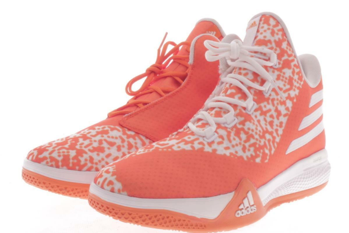 a6b3902841d3 Mens Large Size Size Size Adidas Made You Look Orange Basketball Shoes 16  M..396A e2a376