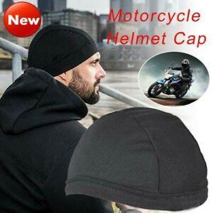 Men-Sport-Moisture-Wicking-Cooling-Skull-Cap-Inner-Liner-Helmet-Beanie-Dome-Cap
