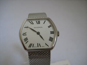 NOS-NEW-VINTAGE-SWISS-HAND-WINDING-ANALOG-STAINLESS-STEEL-JUVENIA-WATCH-1960-039-S