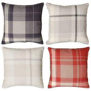 New-Style-Comfortalbe-Tara-Classic-Woven-Tartan-Cushion-55-x-55cm-Approx