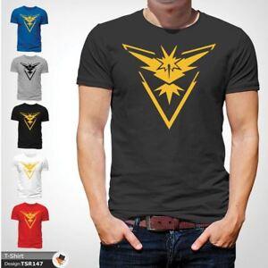 5f37144d POKEMON GO T Shirt Design Team Instinct Adult Mens Christmas Tshirt ...