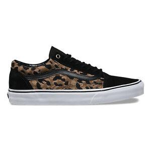 Image is loading Vans-Old-Skool-Italian-Weave-Vans-leopard-print- d6aee7604c24