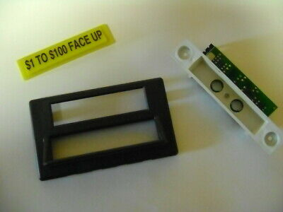 2 sets IGT S Slot Machine  Bill Acceptor Face plate assembly Original