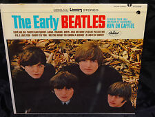 The Beatles The Early Beatles 19?? PROMO PASTE ON COVER SEALED VINYL LP RIAA 19