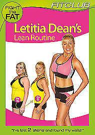 1 of 1 - Letitia Dean - Lean Routine (DVD,)