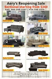 Furniture Warehouse Sale! Dining Set, Sectional, Bedroom Set, Beds, Chairs,Recliners, Mattresses call us at 416-740-2379 City of Toronto Toronto (GTA) Preview