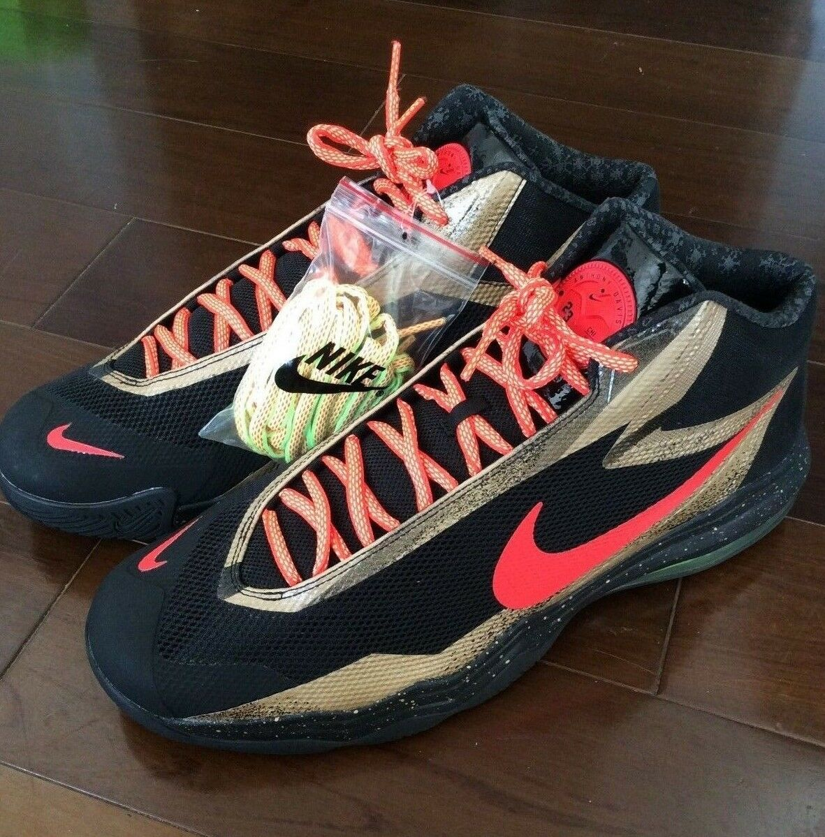 Anthony Davis Player Exclusive Air Max Audacity shoes Nike PE Sample sz 17