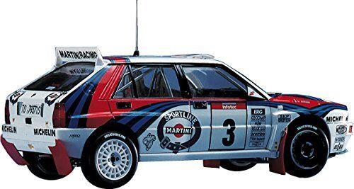 Lancia Super Delta N.3 Or N.7 1992 Wrc Makes Champion Kit 1:24 Hasegawa HGSCR15